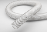 PU and silicone hoses in food quality